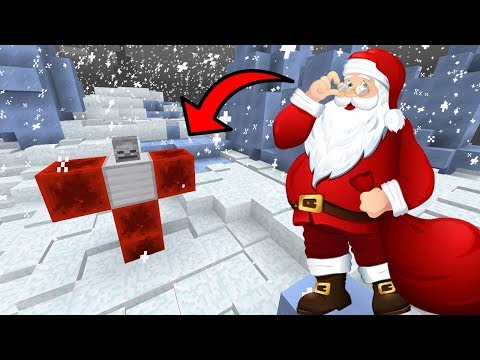 How To Spawn SANTA CLAUS in Minecraft PE