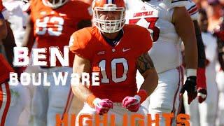Ben Boulware Clemson Linebacker Highlights
