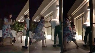 Akshay Kumar Gets Beaten Up By Wife Twinkle Khanna In Front of Family at House in Juhu