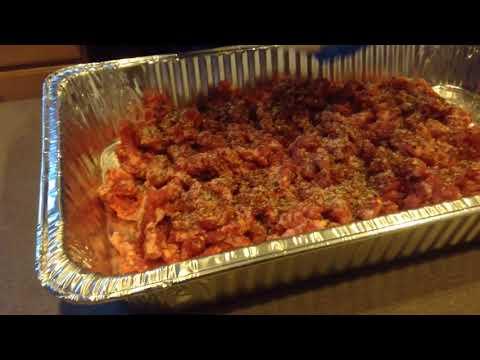 DIY Homemade Sausage using LEM #10 Meat Grinder