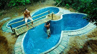 Build Swimming Pool Underground Butterfly-Part 1
