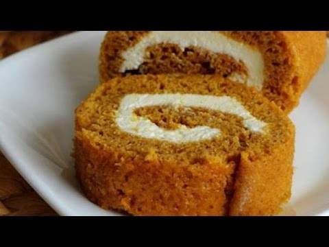 Diabetic Pumpkin Roll Recipe