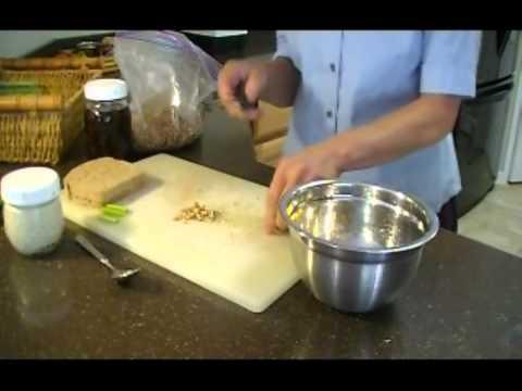 Nutty Olive Sandwich