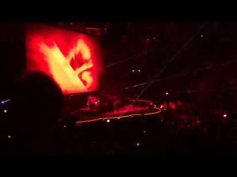 Coldplay- Clocks Clip Auburn Hills, MI