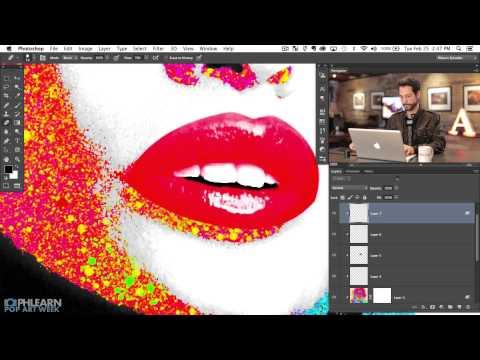 How to Make a Pop Art Splatter Using Photoshop (Part 2)