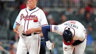 'Braves' Freddie Freeman out 10 weeks with fractured wrist