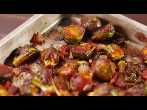 Bacon BBQ Brussel Sprouts | Delish
