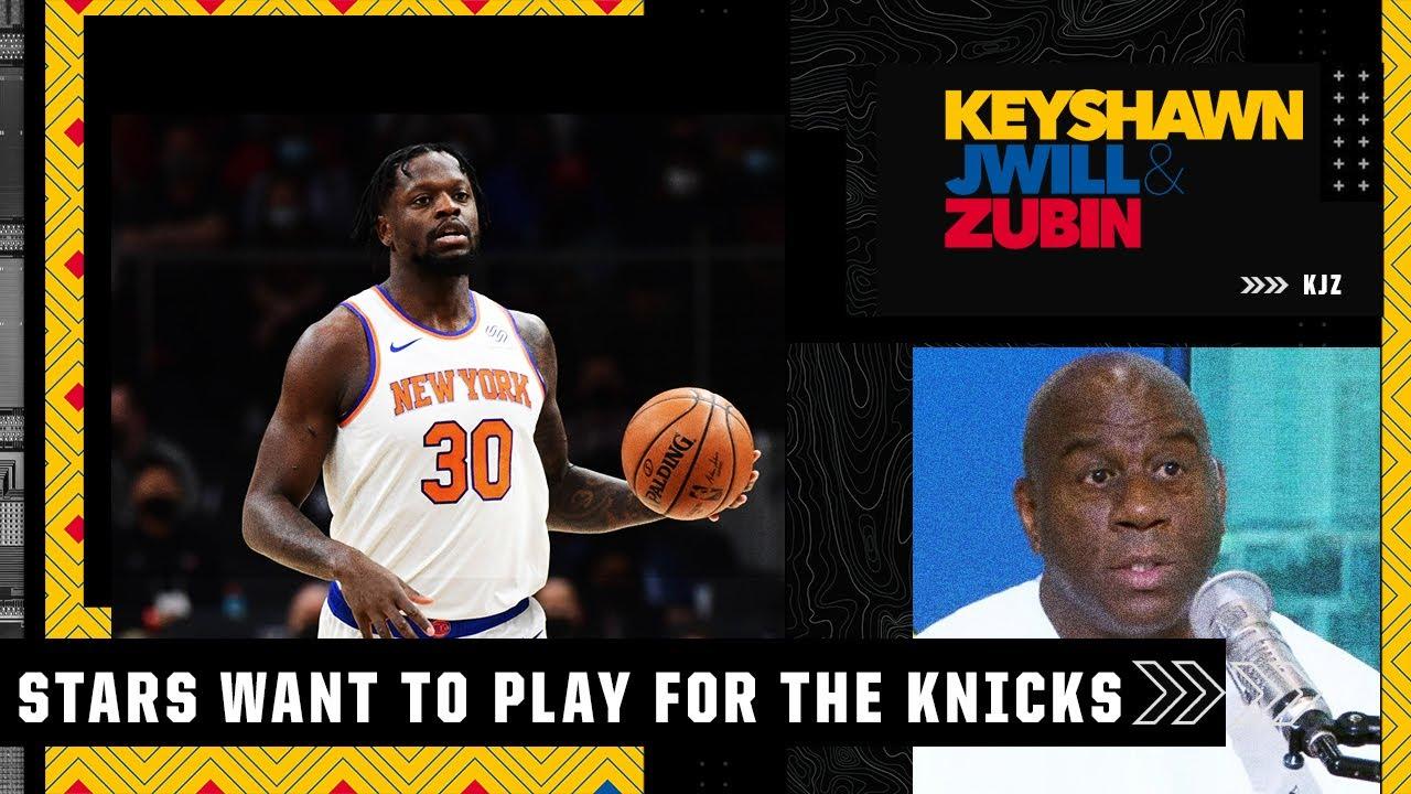 Magic Johnson on Julius Randle and the Knicks' season   KJZ