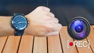 Testei um Relógio ESPIÃO com Câmera Escondida!!!