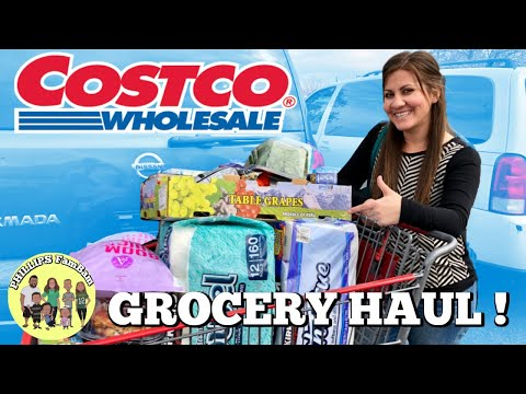 COSTCO GROCERY HAUL | OUR FAMBAM FAVORITES at COSTCO | COLLAB w/ PENNIES INTO PEARLS |