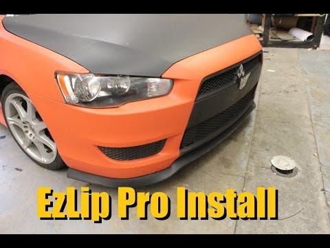 EZLip Pro Installation and Tips (Mitsubishi Lancer)