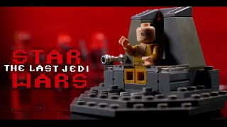 Star Wars The Last Jedi Throne Room Scene in LEGO