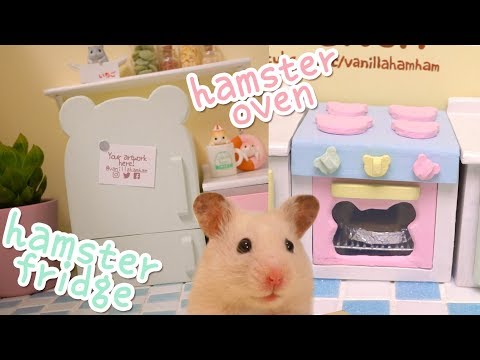 DIY miniature fridge and oven | Building the Hamster Kitchen | Part 3
