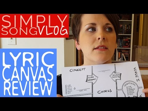 Lyric Canvas Review | Simply Songvlog