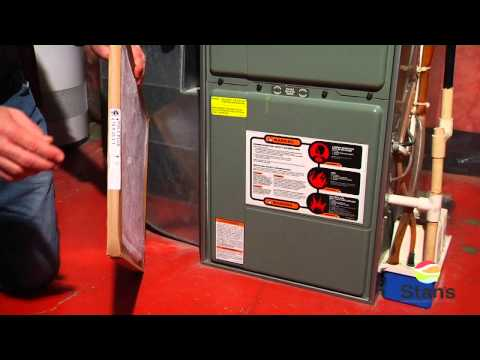 How to change a furnace filter - Stan's Heating and Air Conditioning