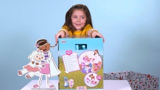 'Out of the Box with Violet': Unboxing the Disney Doc McStuffins Hospital Care Cart!