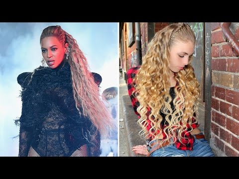 Beyoncé VMAS 2016 Lemonade Medley Inspired Deep Waves & Braid Hairstyle Tutorial + BestHairBuy Hair