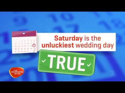 Wedding Myths Busted! | The Morning Show with Jo Ucukalo | Two Hoots Tips