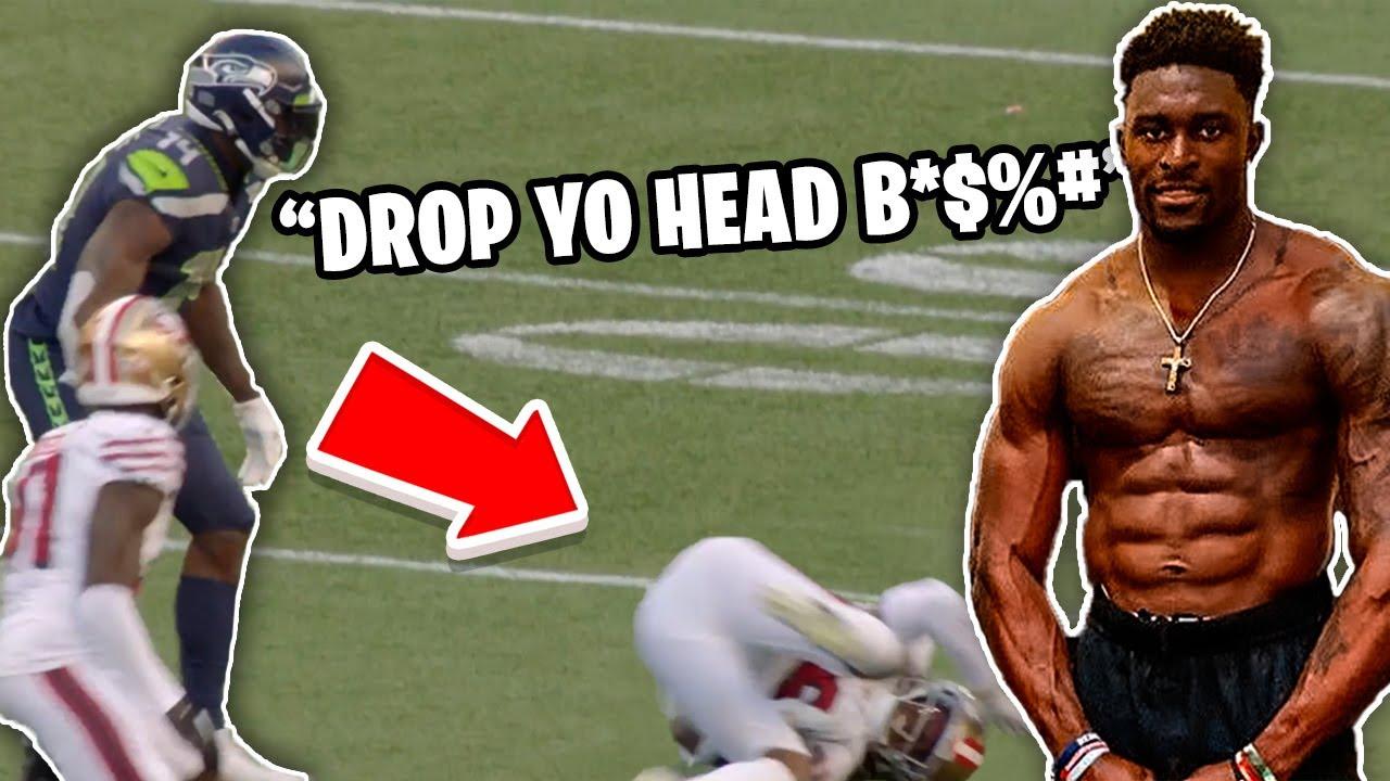 NFL WR's BEST 'Mic'd Up' Moments || HD