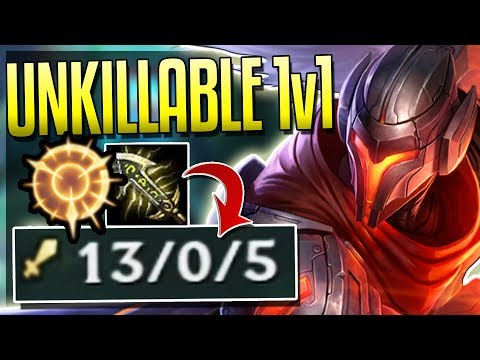 YASUO IS BROKEN WITH NEW RUNES! Unkillable 1v1 Dueler - League of Legends