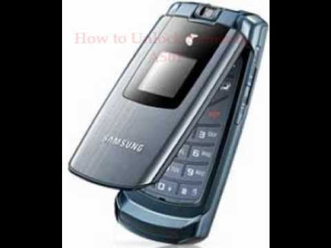 Samsung A561 Unlock Code - Free Instructions