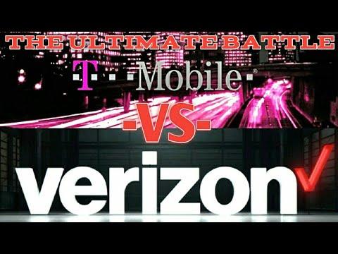 T-MOBILE VS VERIZON **Data Plan Comparison** 2018