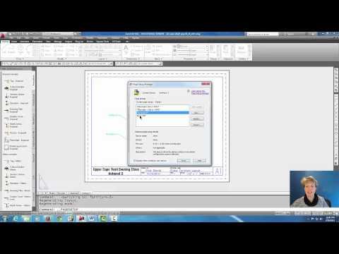 Autocad - Page Setup & Print to PDF #44