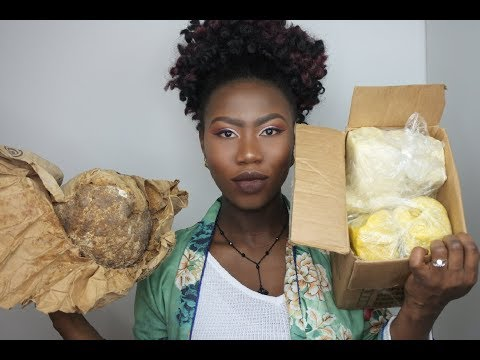 Raw Pure Ghana Shea butter and Black Soap | ami fullest