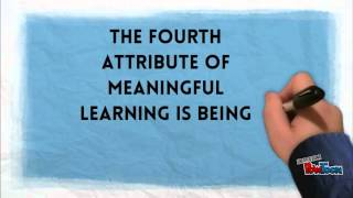 Meaningful Learning video