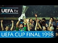 1998 UEFA Cup Final Highlights Inter Lazio