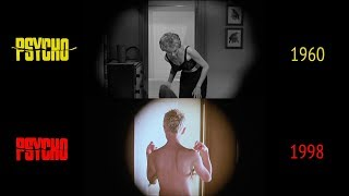 Psycho (1960/1998): Side-by-Side Comparison