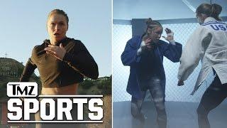 Ronda Rousey Heard The Critics... WATCH ME PROVE YOU WRONG   TMZ Sports