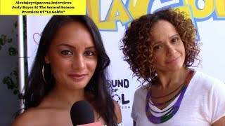 """Claws"" Star Judy Reyes Talks Animated Series ""LaGolda"" - Interview With Alexisjoyvipaccess"
