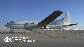 A visit to a New Mexico airplane boneyard