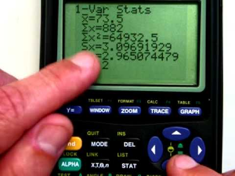 TI-Graphing Calculator- Basic Calculations