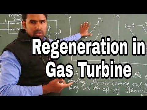 Regeneration in Gas Turbine | Regeneration in Brayton Cycle in Hindi by Qaiser | Study Channel