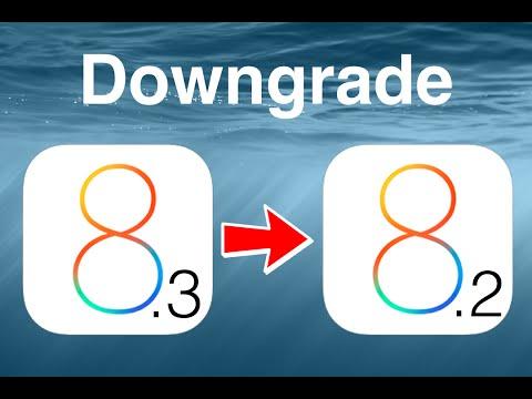 How to downgrade ios 8.3 beta to ios 8.2