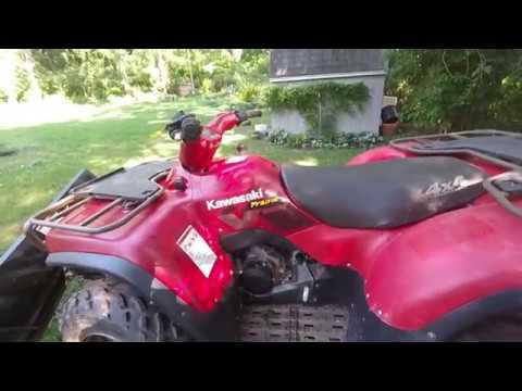 Kawasaki Praire 650 ATV coolant change