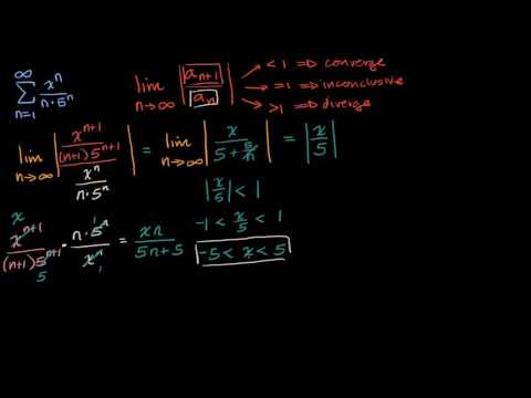 Worked example: interval of convergence | Series | AP Calculus BC | Khan Academy
