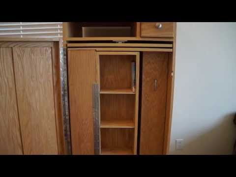 How to Build a Media Cabinet Carousel