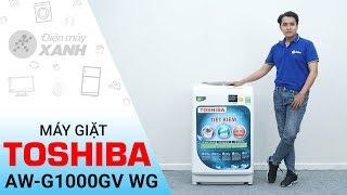 Download Máy giặt Toshiba 9kg AW-G1000GV WG - Máy giặt bán chạy nhất cho gia đình   Điện Máy XANH Video