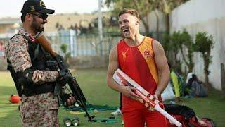 Pak army and International Player security services Psl 4 2019 karachi stadium