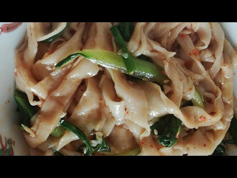 How to make handmade noodles  recipes