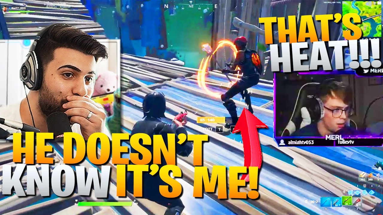 I SECRETLY Joined Small Streamers FASHION SHOWS! (They Didn't Know!) - Fortnite Battle Royale