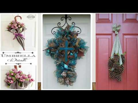 DIY Simple and Easy Wreath Making Ideas #70