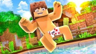 Minecraft Épico #12 - EU CONSTRUÍ UMA PISCINA !!