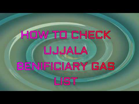 HOW TO CHECK UJJALA BENEFICIARY GAS LIST by My Research