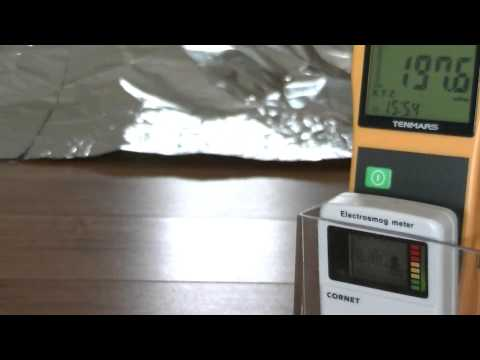 Comparing Shielding Performance of Space Blankets, Aluminum Mesh and Foil, Grounded and Ungrounded