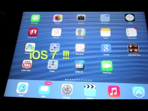 How to update your iPad 4 to iOS 7 over WiFi