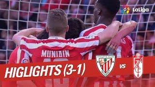 Resumen de Athletic Club vs Granada CF (3-1)